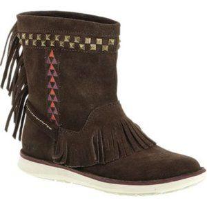 Cushe Manuka Lite Rock Fringe Boots
